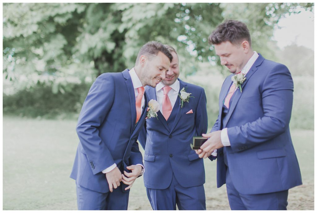 Groom with best man