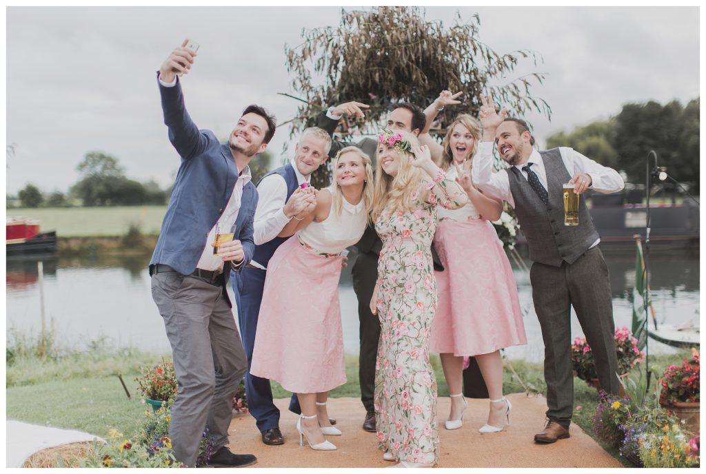 bridal party selfie!