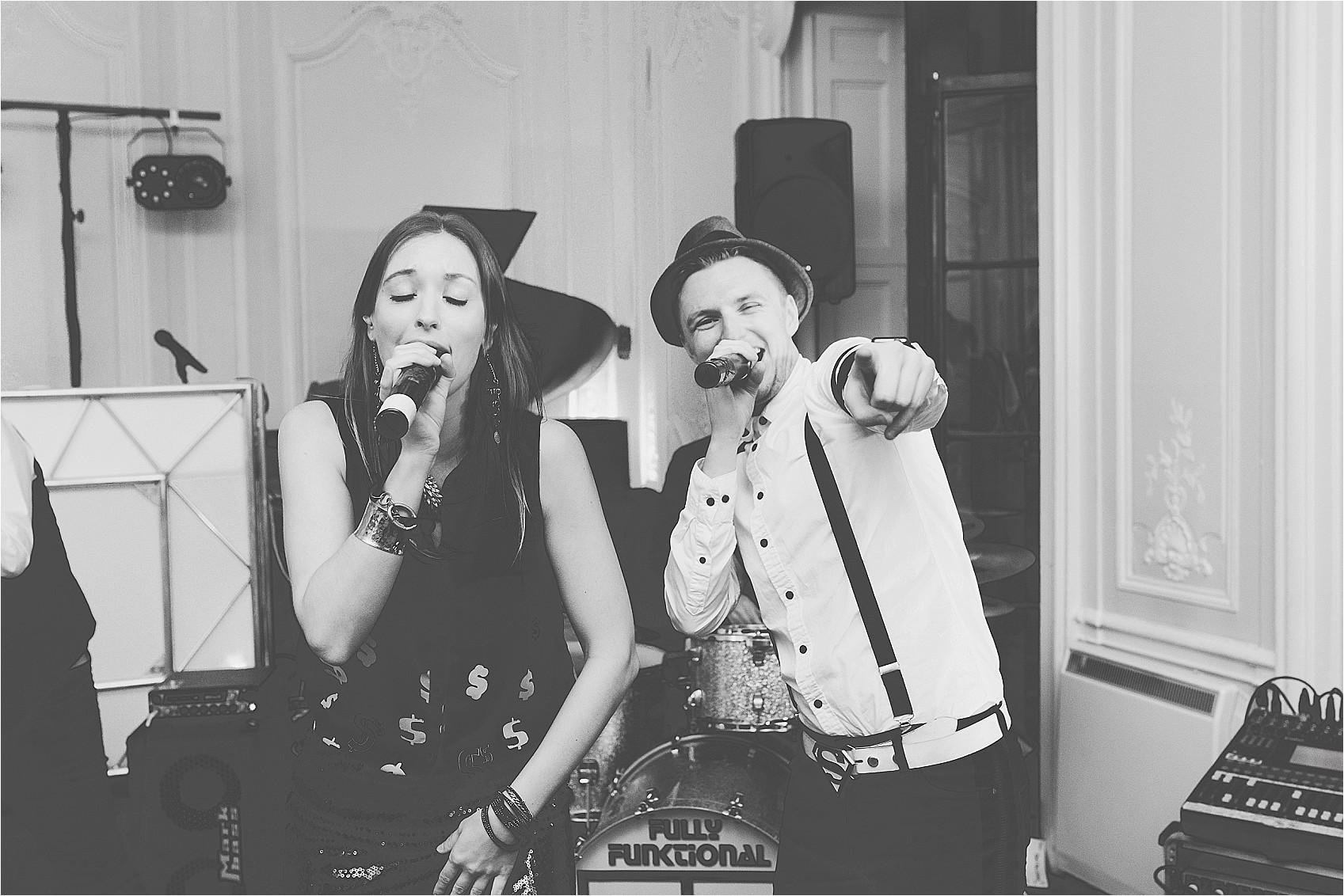 Wedding band singing