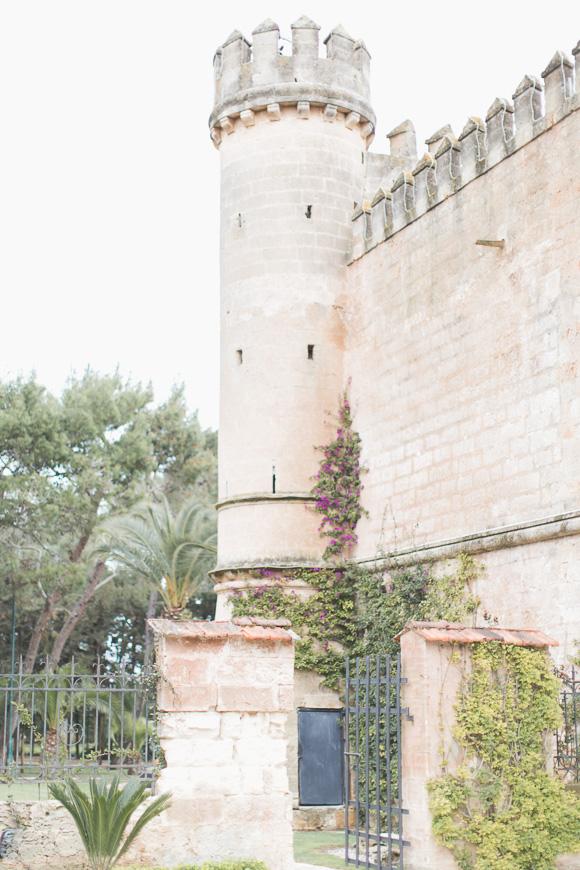 Castle wedding venue in Italy