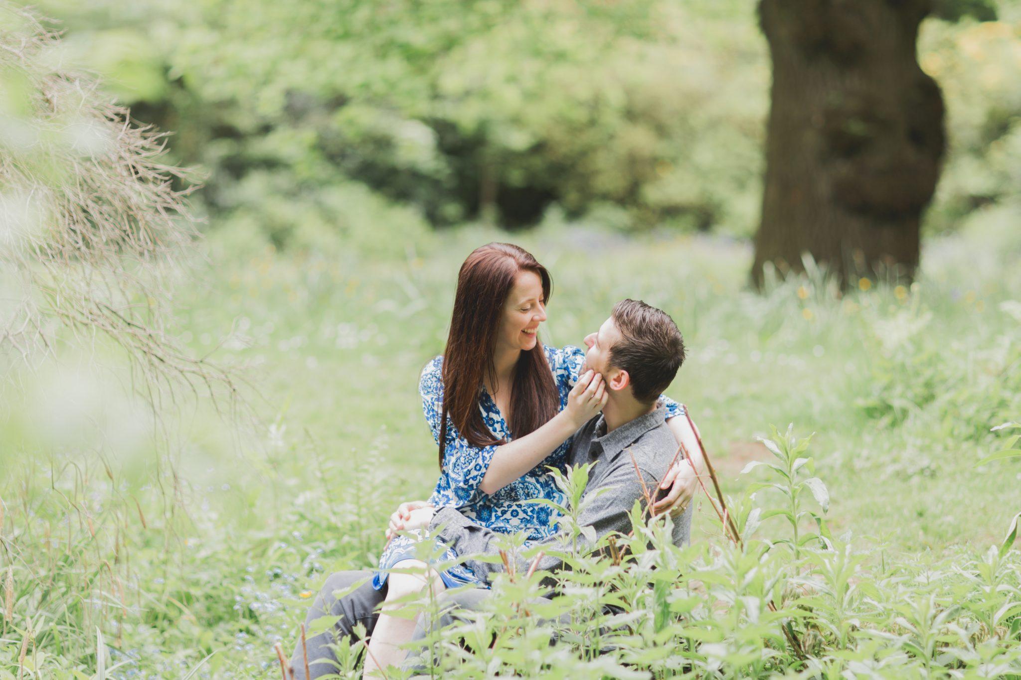Couple on their pre-wedding photoshoot