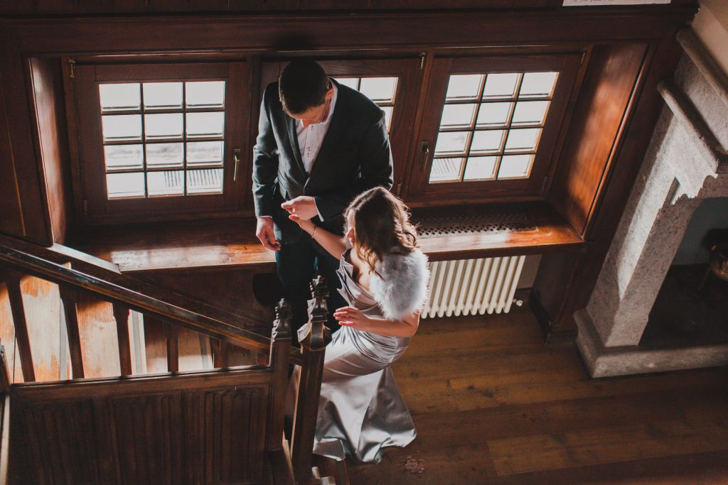 Wedding elopement in France
